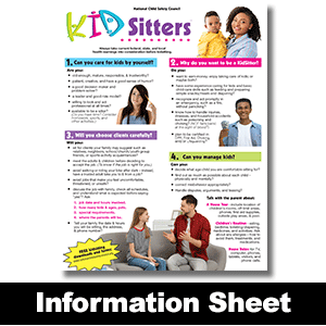 052: KidSitters™ Information Sheet