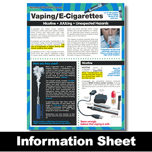 281: Vaping/E-Cigarettes Information Sheet