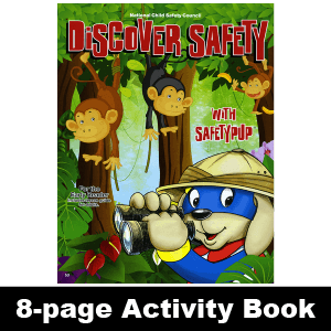 053: Discover Safety, Early Reader Activity Book