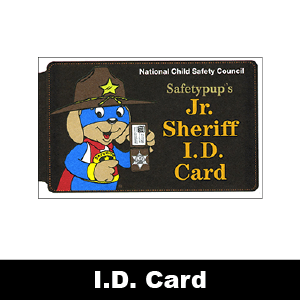 693: Jr. Sheriff's Deputy I.D. Card & Badge