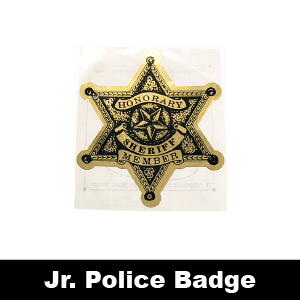 078: Sheriff Honorary Member 6-Point Star