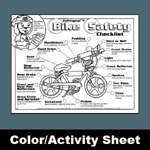 150 SafetypupRs Bike Safety Checklist