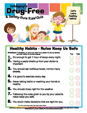 Healthy Habits - Rules Keep Us Safe