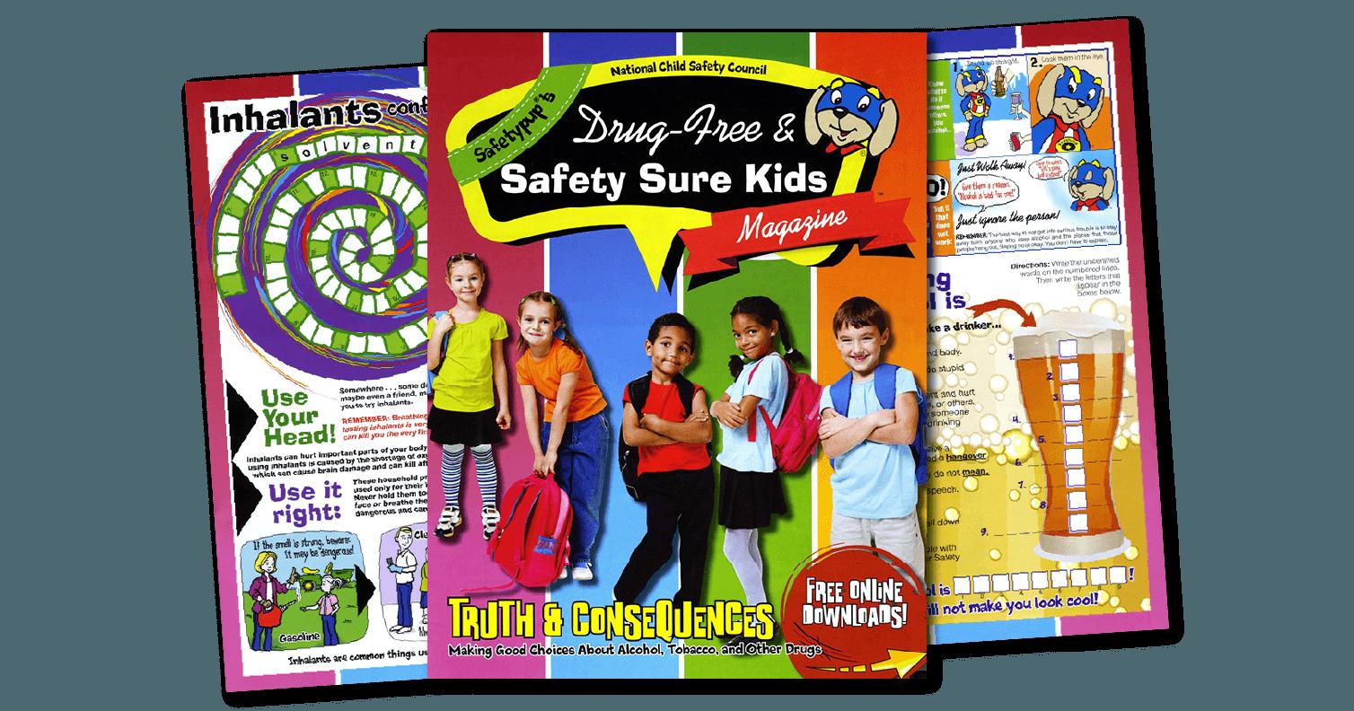 253: Safetypup®'s Drug-Free & Safety-Sure Kids® Magazine