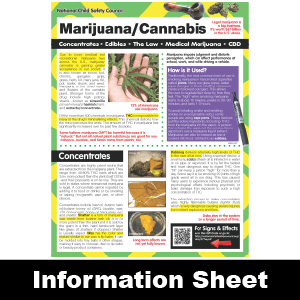 277: Marijuana Information Sheet